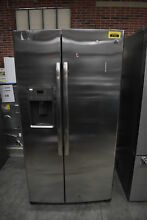 GE GSE25HSHSS 36  Stainless Side By Side Refrigerator NOB  37261 CLN