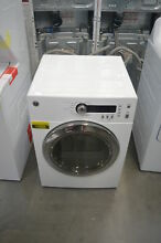 GE DCVH480EKWW 24  White Front Load Electric Dryer NOB  28392 CLW