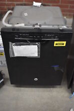 GE GDF520PGJBB 24  Black Full Console Dishwasher NOB  38352 HRT