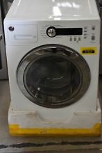 GE WCVH4800KWW 24  White Front Load Washer NOB  37529 HRT