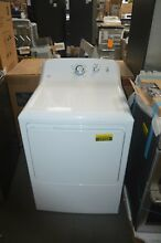 GE GTD33EASKWW 27  White Front Load Electric Dryer NOB  27723 HL