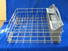 Maytag Dishwasher Lower dishrack w basket PN  WPW10201658  WPW10438331  B746