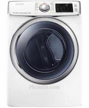 Samsung DV45H6300EW 27  White Front Load Electric Dryer NIB  17877 HRT