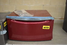 Whirlpool XHPC155XR1 27  Red Laundry Pedestal w Drawer NOB  38464 HRT