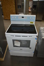 Whirlpool WFE505W0HW 30  White Electric Range NOB  38589 MAD