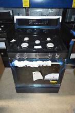 KitchenAid KFGG500EBS 30  Black Stainless Freestanding Gas Range NOB  17211 CLW