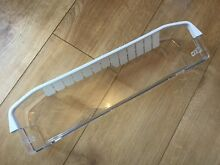 GENUINE FRIDGE   FREEZER LOWER BOTTLE SHELF   RETAINER FITS SMEG WHIRLPOOL
