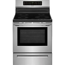 Frigidaire Stainless Steel 30  Electric Frestanding Induction Range FFIF3054TS