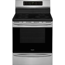 Frigidaire Stainless Steel 30  Electric Frestanding Induction Range FGIF3036TF