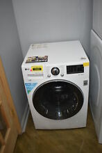 LG WM1388HW 24  White NFC Tag Quiet Operation Front Load Washer NOB  33159 MAD