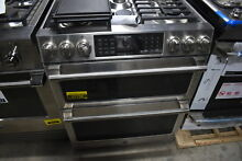 GE Cafe Series C2S995SELSS 30  Stainless Double Oven Dual Fuel Range  27730 MAD