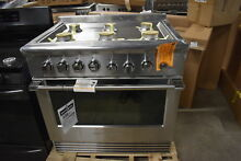 Fisher Paykel Pro RDV2366NN 36  Stainless Dual Fuel Convection Range  38711 MAD