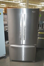 Whirlpool WRF535SMBM 36  Stainless French Door Refrigerator NOB  16136 HL