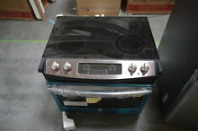 GE JD630SFSS 32  Stainless Drop In Electric Range 4 4 cu ft Oven NOB  30268 CLW