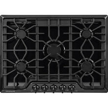 Frigidaire Gallery 30 Inch Gas 5 burner Cooktop  Black