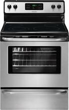 Frigidaire 30 Inch Electric Range   Stainless Steel   FFEF3048LS New