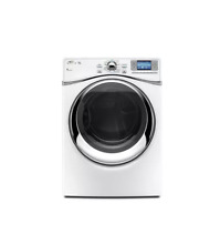 Whirlpool WGD97HEXW 27  White Front Load Gas Steam Dryer NIB  8415 MAD