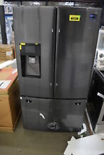 Samsung RF263TEAESG 36  Black Stainless French Door Refrigerator  31582 HRT