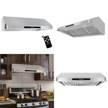 Cosmo QS90 36 in Under Cabinet RangeHood 900 CFM   Ducted   Ductless