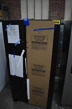 Whirlpool WRS555SIHV 36  Black Stainless Side X Side Refrigerator  39285 CLW