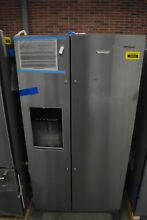 Whirlpool WRS571CIHZ 36  Stainless Side By Side Refrigerator NOB  39324 HRT