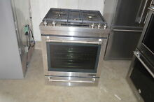 Jenn Air JGS1450DP 30  Stainless Slide In Freestanding Gas Range NOB  15816 MAD