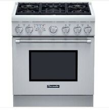 30 Inch Pro Harmony Dual Fuel Range PRD305PH  Stainless Steel