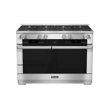 Miele M Touch HR1954DFLP 48  Stainless Pro Style LP Dual Fuel Range NEW  21560