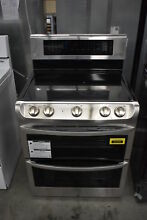 LG LDE4415ST 30  Stainless Freestanding Double Oven Electric Range N
