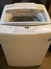 LG Top Load Washing Machine 4 5 cu  ft    White