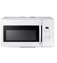 Samsung ME16H702SEW 30  White Over The Range Microwave NOB  6565 WLK