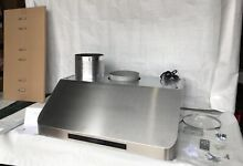 AKDY 30  Under Cabinet Stainless Steel Range Hood w Touch Controls   Remote
