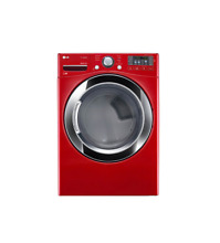LG DLGX3371R 27  Wild Cherry Red Front Load Gas Dryer NIB  21533 HRT