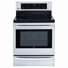 LG LRE3025ST 30  Stainless Freestanding Electric Convection Range NIB  6994 MAD