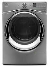 Whirlpool WED99HEDC 27  Chrome Shadow Front Load Electric Dryer NIB  8453