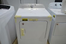 Maytag MEDB766FW 29  7 cu  ft  Front Load White Electric Dryer NOB  18072 CLW