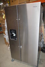 Whirlpool WRS325SDHZ 36  Stainless Side by Side Refrigerator NOB T2  23483 CLW