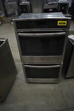 GE PK7500SFSS 27  Stainless Electric Double Wall Oven NOB  39427 HRT