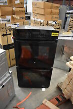 GE PK7500DFBB 27  Black Electric Double Wall Oven NOB  39434 HRT