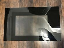 Whirlpool Stove Black Oven Door Glass Part  9781627PB