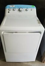GE 7 2CF 4 Cycle Electric Front Load Dryer White  need repair