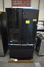 GE GFE28GBLTS 36  Black Stainless French Door Refrigerator NOB  39932 HRT