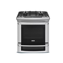 Electrolux EW30DS65GS 30  Stainless Slide In Dual Fuel Range NIB  6890 MAD