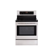 LG LRE3023ST 30  Stainless Freestanding Electric Range NOB  2841 MAD