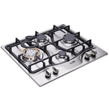Delikit B 24  4 burners gas cooktop gas hob NG LPG dual fuel sealed S S panel