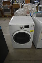 GE GFD43ESSMWW 27  White Front Load Electric Dryer NOB  40016 CLW