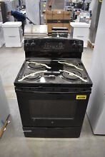 GE JB258DMBB 30  Black Freestanding Electric Range NOB  40023 CLW