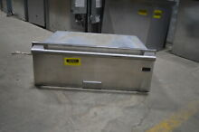 Electrolux E30WD75GPS 30  Stainless Warming Drawer 1 6 Cu Ft  NOB  12045 HRT