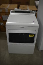 Whirlpool WED7500GW 27  White Front Load Electric Dryer NOB  40265 HRT
