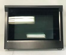 SAMSUNG NW9000K Lower Oven Door Assembly NV51K7770DG Double Wall Oven